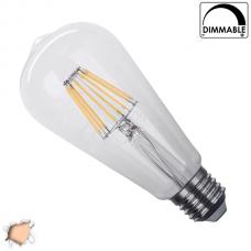 Γλόμπος LED Edison Filament Retro 8 Watt